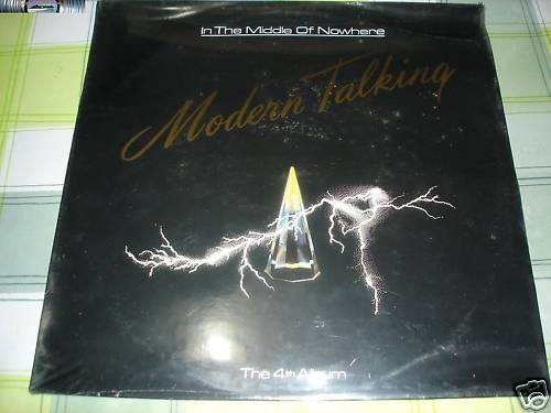 Modern Talking - In the middle of nowhere - LP 1986 S/S