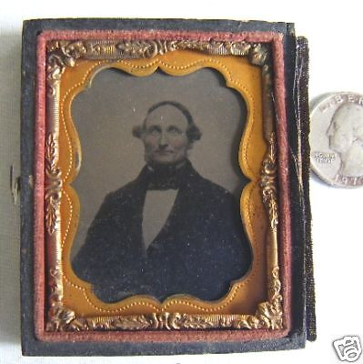 handcolored tintype matted 1/2 case take a look