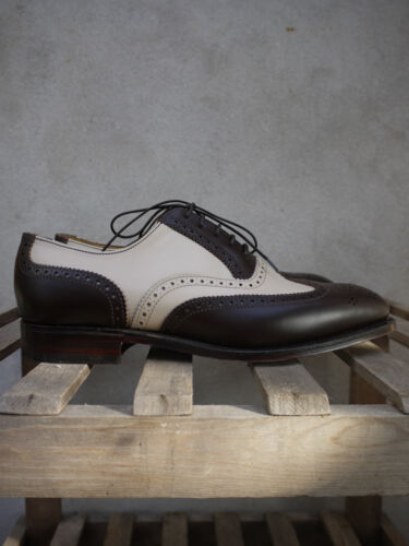 Melly Co-Respondent Shoes by Alfred Sargent – Made in UK – Sizes UK 9/9.5