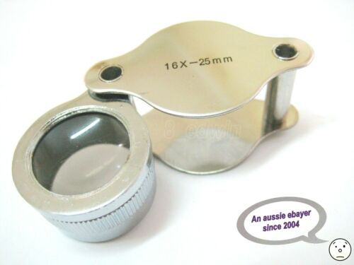 Quality 16x25 mm Jeweler 's LOUPE 20% Off  Local Fast Shipping