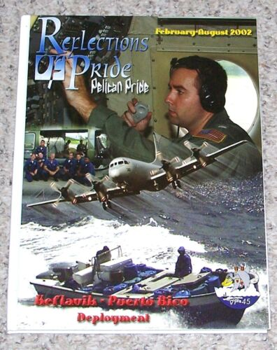 2002 cruise book US Navy Patrol Squadron Forty-Five  VP-45Other Militaria - 135