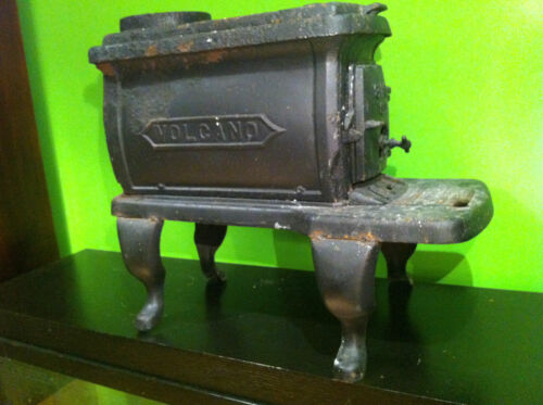 Antique Volcano Cast Iron Wood Stove Oven Jacksonville Florida