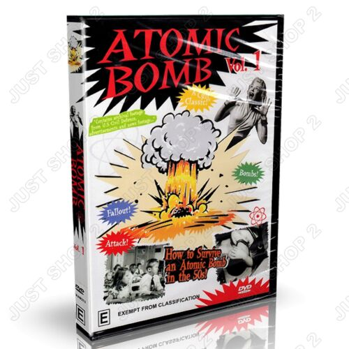 Atomic Bomb DVD : Documentary Archival Footage : Brand New