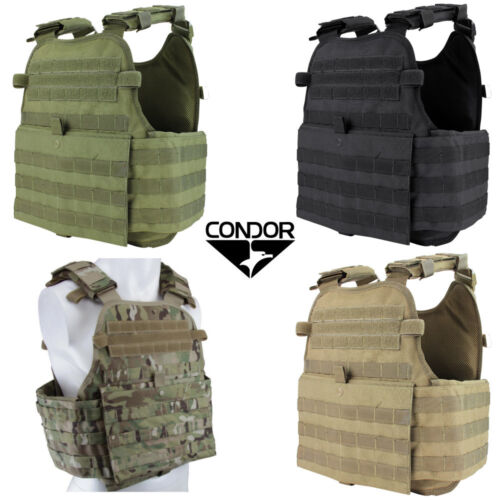 Condor MOLLE Operator Plate Carrier Vest Body Chest Assault Rig MOPCChest Rigs & Tactical Vests - 177891