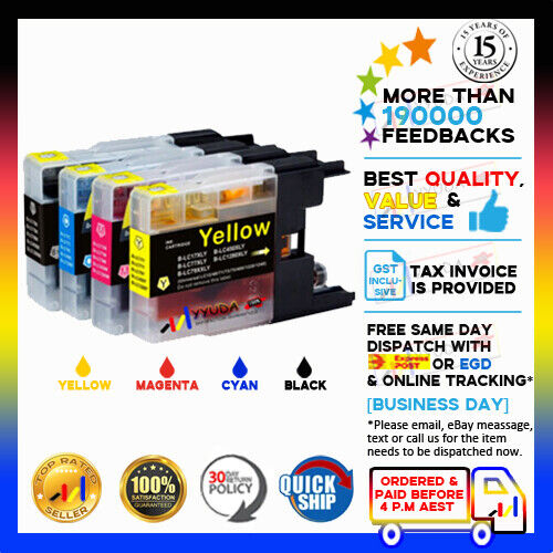 20x NoN-OEM Ink Cartridge LC 40 LC 73 LC 77 XL for Brother MFC J6510DW J6910DW