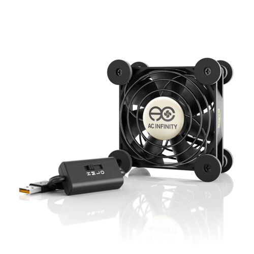 MULTIFAN S1, Quiet 80mm USB Cooling Fan for Receiver DVR Computer XBOX Cabinets