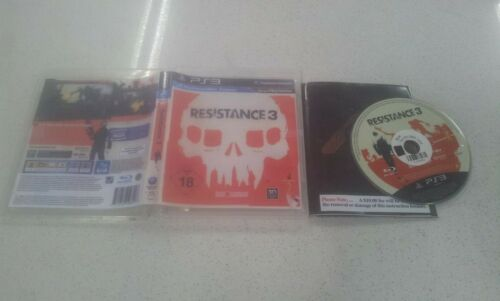 Resistance 3 PS3 Game Used