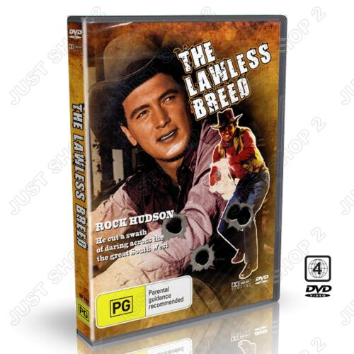 The Lawless Breed (1953) : Rock Hudson : New DVD