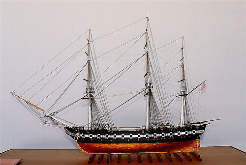 USS Constitution - part wood from original ship - museum quality - not a kit