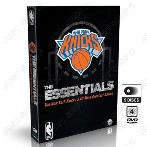 NBA New York Knicks : The Essentials 5 All Time Greatest Games : New 5 DVD Set