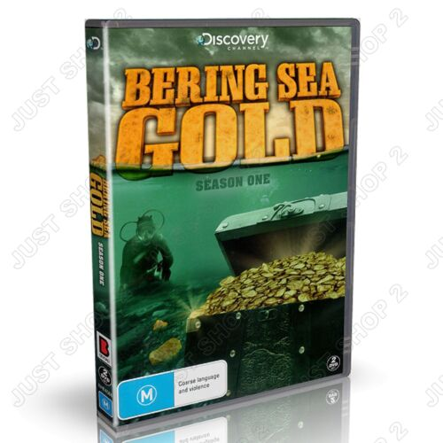 Bering Sea Gold Season 1 : Discovery Channel Documentary : 2  Disc Set : New DVD