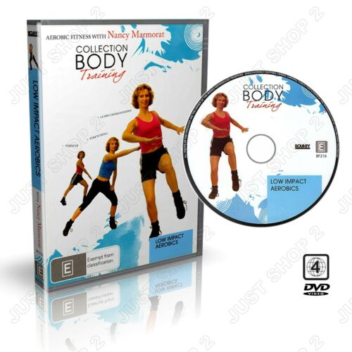 Low Impact Aerobics Workout : New  Exercise DVD (Beginners Level)