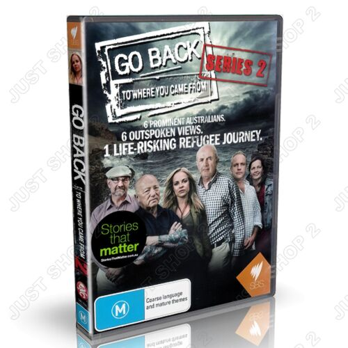 Go Back To Where You Came From DVD :  Series 2 : Brand New