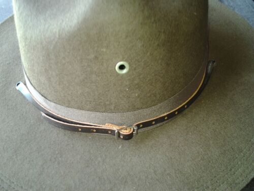 Infantry or USMC Dismounted Leather Chinstrap for M1911 Campaign HatUnited States - 156413