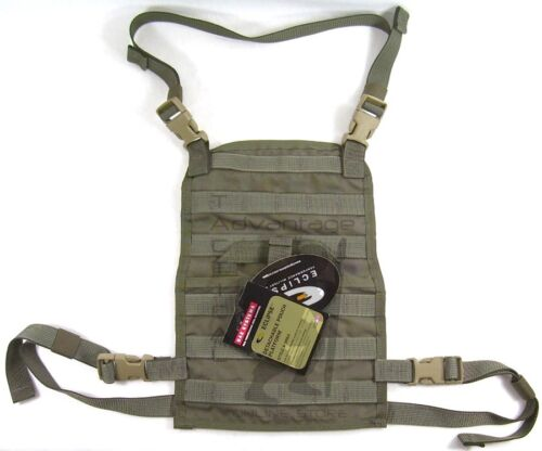 BAE Systems ECLiPSE Foldable Chest Rig MOLLE Platform - ranger green V2Pouches - 158437