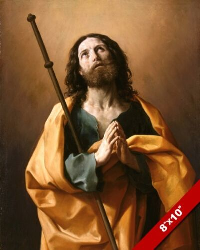 APOSTLE ST JAMES THE GREATER RENNAISSANCE BIBLE PAINTING REAL CANVASART PRINT
