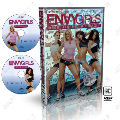 Envy Girls Abs Buns Arms & Legs Exercise DVD : 2 Discs : New & Sealed
