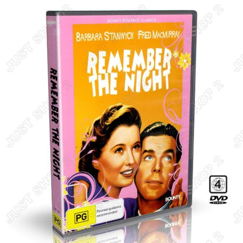 Remember the Night (1940) : Barbara Stanwyck : New DVD