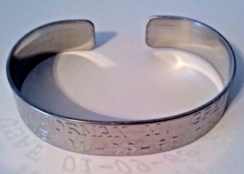 POW/MIA Vietnam Army Navy Marines Air Force Bracelets  Reproductions - 156445