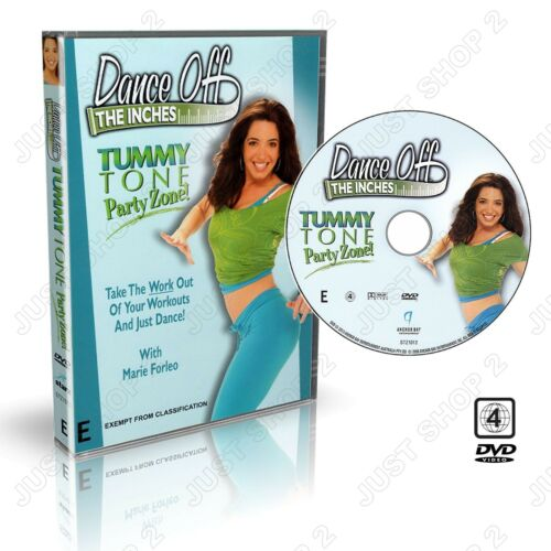 Dance Off The Inches  Exercise DVD : Tummy Tone Cardio Workout :  Brand New