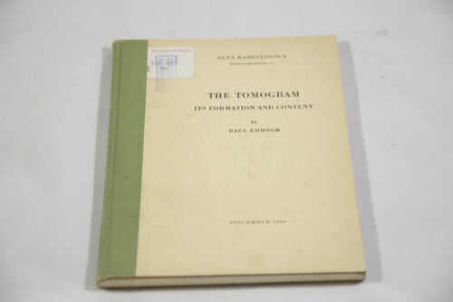 THE TOMOGRAM ITS FORMATION AND CONTENT BY PAUL EDHOLM