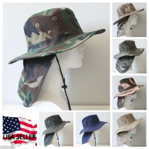 Bucket Booney Mesh Hat Hunting Fishing Army Military Hiking Camping Camouflage