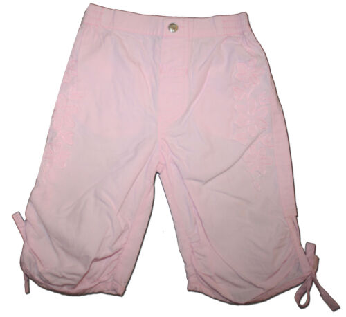 Pretty GUESS Size 12 months Baby Pink Appliqued Pants