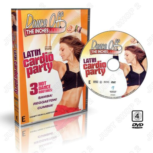 Dance Off Inches Latin Cardio : Fun Calorie Burning Workout  : New Exercise DVD