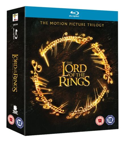 The Lord of the Rings Trilogy Fellowship Two Towers Blu-ray Region B