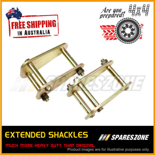 TOYOTA LANDCRUISER 75 SERIES 11//84-99 ARCHM4X4 FRONT GREASABLE SHACKLES