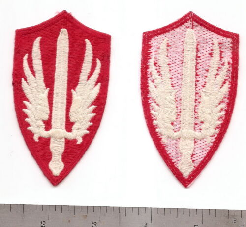 #006 US ARMY SCARFWAF PATCHPatches - 36078