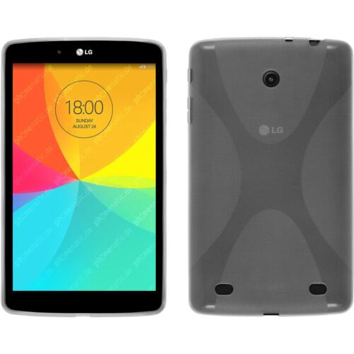 Silicone Case for LG G Pad 8.0 X-Style transparent Cover