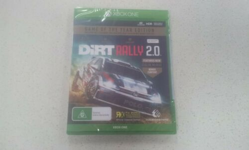 Dirt Rally 2.0 Game of the Year Edition GOTY edition Xbox One (New & Sealed) AU