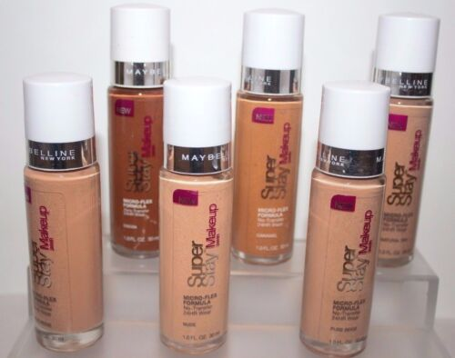 BUY 1, GET 1 @ 20% (add 2 to cart) OFF MAYBELLINE SUPERSTAY MAKEUP FOUNDATION