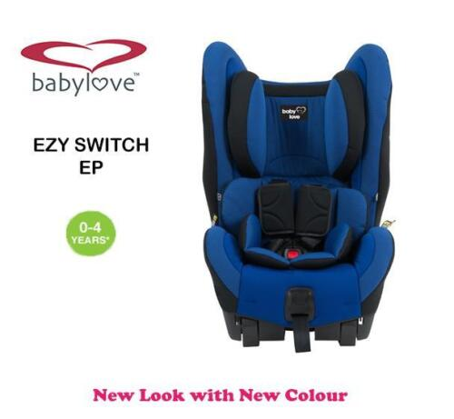 New BabyLove Ezy Switch Ep Convertible Child Infant Baby Car Seat 0-4 years Blue