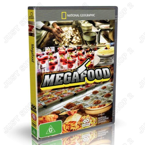 Megafood DVD :  Documentary National Geographic  : Brand New