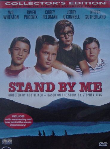 Stand By Me River Phoenix Wil Wheaton Kiefer Sutherland Region 4 DVD in VGC