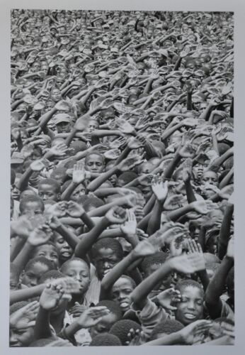 Peter Marlow Limited Edition Magnum Photo Poster 50x70 Sambia Zambia Zambie 1977