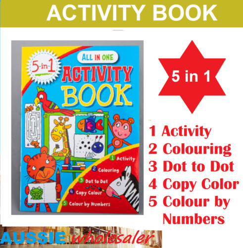 24 Pages Children Kid Color Book for Early Education and Cognitive