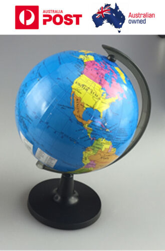 Portable table 14cm world globe map for child early education