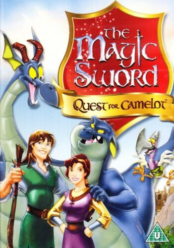 The Magic Sword Quest For Camelot Region 4 New DVD