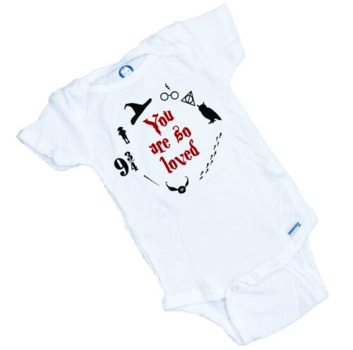 Harry Potter YOU ARE SO LOVED  Onesie / Romper Organic Cotton