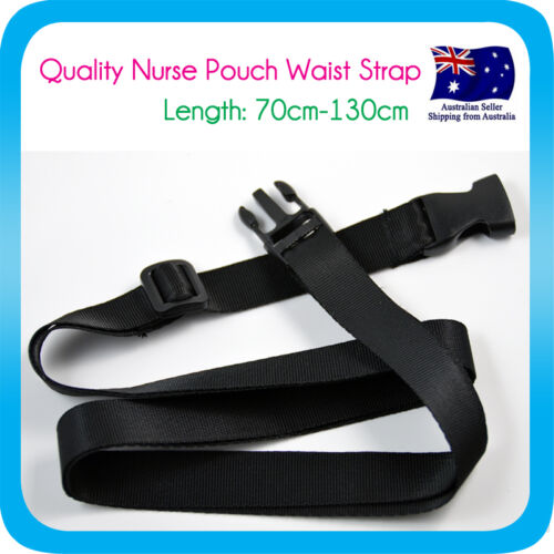 """New Strap Extension Belt for Nurse Pouch """"extra pocket"""" Quick Pick Bag"""