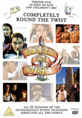Round The Twist Complete Series 1+2+3+4 The Complete Collection Region 4 DVD