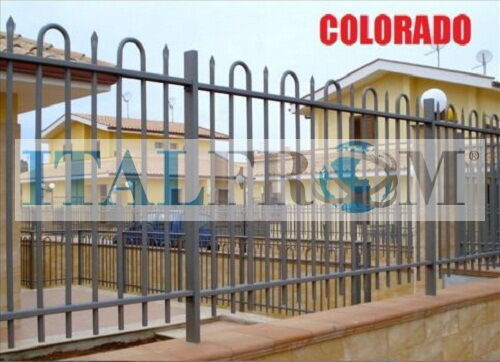 Fence panel Colorado standard railing galvanized wrought iron