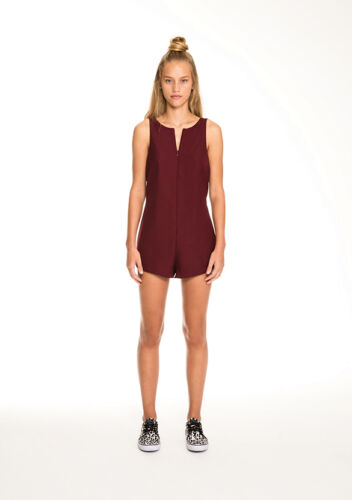NEW THE FIFTH LABEL STELLA PLAYSUIT BURGUNDY!!  MED TO XL