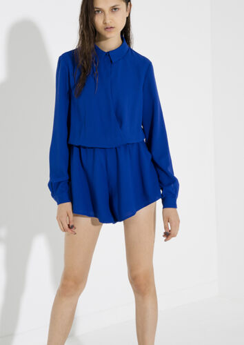 NEW THE FIFTH LABEL BRIGHT BLUE DESERT RAIN PLAYSUIT RRP $120    SIZE 12