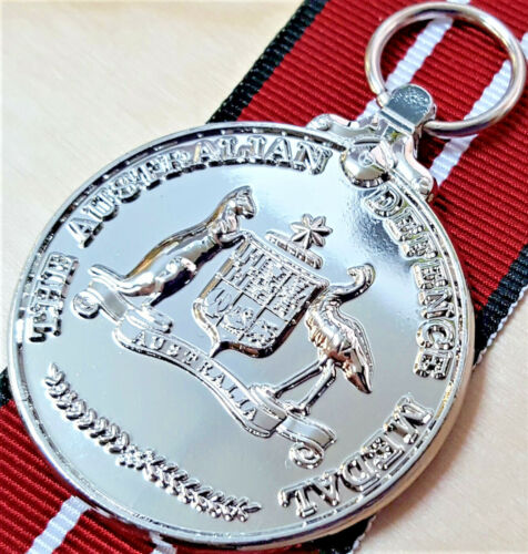 **THE AUSTRALIAN DEFENCE MEDAL ARMY NAVY AIR FORCE REPLICA 4 YEARS SERVICE ANZACModern, Current - 36066