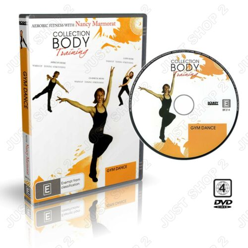 Gym Dance Exercise DVD : Fun Fat Burning Cardio Workout : New