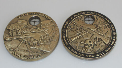 10-Pack SNIPER Challenge Coins, CNC01-Q10Marine Corps - 66531